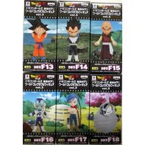 Banpresto Dragon Ball Z Wcf Vol 3 Goku Vegeta Bulma Freezer
