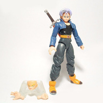 Figura De Accion Dragon Ball Z Trunks Piezas Intercambiables