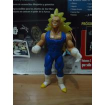 Dragon Ball Z Vegeta Ssj3 Figura Hecho En Mexico