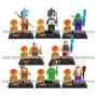 Set 8 Figuras Dragon Ball Z Vegeta Goku Compatible Con Lego