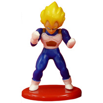 Figura De Coleccion Vegeta De Dragon Ball Coca Cola Y Bandai