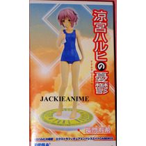 Haruhi Suzumiya Figura Nagato Yuki Traje De Baño 18cm Sega