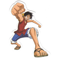 Sticker Monky D Luffy One Piece Y001 27 Envio Gratis Correos