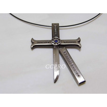 One Piece Collar Espada De Dracule Mihawk Color Plata