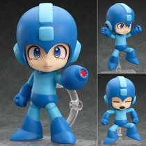 Megaman Rockman Nendoroid En Mano, Lista Para Entrega