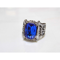 Anillo Black Butler Ciel Phantomhive Blue Family