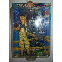 Asuka Langley, Evangelion, Figura Vestida De Soldado
