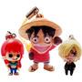 Set De Straps Pettite De One Piece Nami Luffy Sanji Y1250 1
