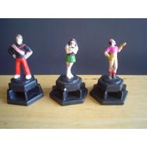 3 Mini Figuras 2004 Miden 6cms