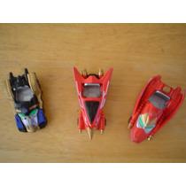 3 Mini Autos De Bandai 2002 Miden 8 Cms En 60.00 Cada Uno