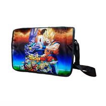 Dragon Ball Z Mochila De Portafolio Goku Vegeta Bills