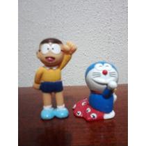 Doraemon Y Nobita Mini Figuras Fujiko Pro