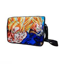 Dragon Ball Z Mochila Portafolio Goku Vegeta