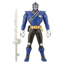 Power Rangers Samurai Blue 6.5 Morphin Acción Guardabosques