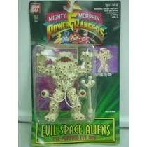 Mighty Morphin Power Rangers Evil Space Aliens Ojo Haciendo