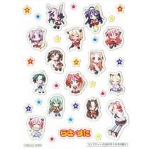 Planilla De Sticker De Lucky Star Y1199 2