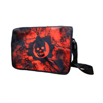 Gears Of War Mochila Portafolio Escolar Crimson