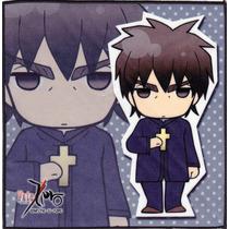 Arte Visual Pañuelo Muy Fino Fate Zero Original Japon Esc04