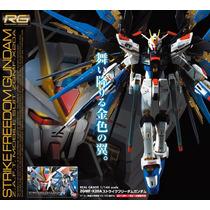 Gundam Strike Freedom 1/144 Rg Bandai, Revoltech Vbf