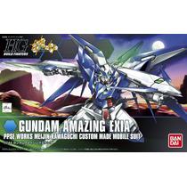 Hgbf 1/144 Gundam Amazing Exia Gundam Japonesa