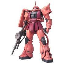 Gundam Ms-06s Zaku Ii Char Custom Ver 2.0 Mg 1/100 Escala