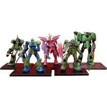 Coleccion De Minifiguras De Mobile Suit Gundam Bandai Msg 03