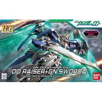 Gundam 00: Hg 00 Raiser + Gn Sword Iii Hg