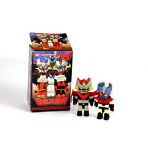 Mini Figura Mazinger Z Y Gran Mazinger Importado