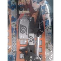 Kit D Accesorios P/traje Naruto Banda Kunai Shurike Muñequer