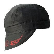 Revco Bc5w-bk Negro Bsx Soldadura Con Red Flames Y Logo