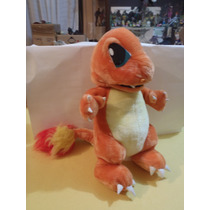 Charmander Peluche Pokemon Mas De 40cm Original Buen Estado