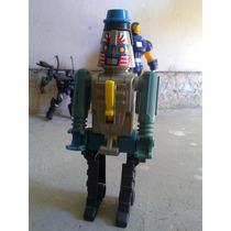 Robot Transformable Pistola De Chinampinas Vintage!