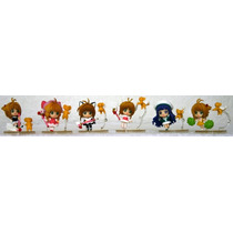 Sailor Moon Coleccion De 6 Figuras