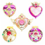 En Mexico - Sailor Moon - Set De 5 Broches Espejos Gashapon