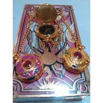 Paquete De Reloj Sailor Moon Y Cartas Sakura