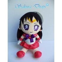 Peluche Sailor Moon Rei Hino (marte) 15 Cm Aprox - Original