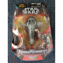 Transformers Star Wars Boba Fett Slave 1 Hasbro 2006