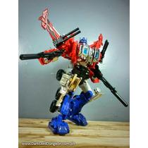 Dx9 Transformers Generations Optimus Prime Powermaster Kit