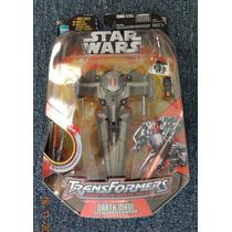 Transformers Star Wars Darth Maul Sith Infiltrator Hasbro 20