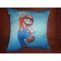 Almohada Tela Mario Bros ****envio Gratis