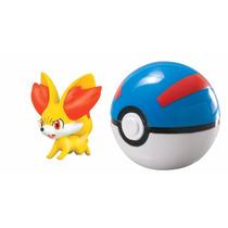 Tb Pokémon Clip & Carry Poké Ball Fennekin + Great Ball