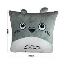 Mi Vecino Totoro Peluche Almohada 32x35cm Neighbor Bordado