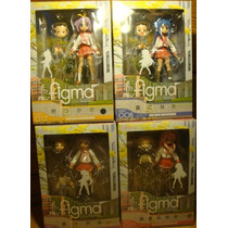 Set 4 Figuras Figma De Lucky Star Winter Uniform Max Factory