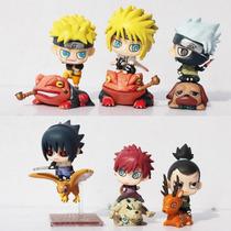 Naruto Set 6 Figuras Coleccionables Kakashi Sasuke Oferta