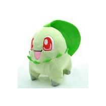 Peluche Pokemon Chikorita 15cm Pikachu Charizard