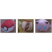 Pokemon - Personaje Y Pokebola En El Mismo Peluche - Hasbro