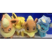 Peluche Pokemon Evee 4 Evoluciones $300c/u