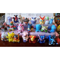 Pokemon Set De 10 Figuras Al Azar, 100% Originales Bandai