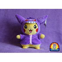 Peluche Pokemon Center Pikachu Gengar Cosplay 30 Cm