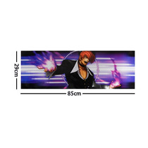King Of Fighters Kof Poster Largo Plastificado Iori Yagami